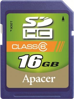 Apacer SDHC 16GB class 6