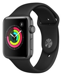 Apple Watch S3 42mm SpaceGrey mql12cn/a