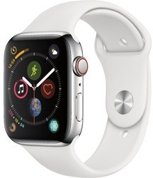 Apple Watch S5 44mm Silver+Wh mwvd2hc/a