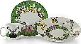 Banquet Dětská jídelní sada Kamarádi z džungle