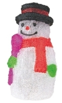BEN ZY1409 30 LED Xmas Snowman IP44 DL
