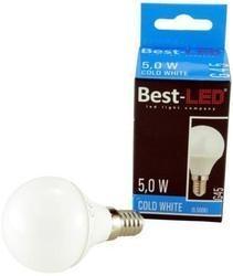 Best-LED E14 5W studená bílá BL-G45-5C