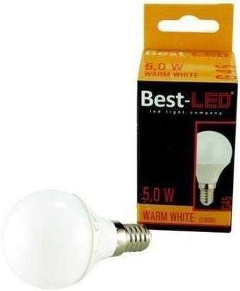 Best-LED E14 5W teplá bílá BL-G45-5W