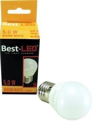 Best-LED G45 5W teplá bílá BL-G45-27-5W