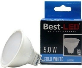 Best-LED MR16 5W studená bílá BMR16-5-409C