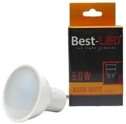 Best-LED GU10 5W tep.bílá BGU10-5-420W