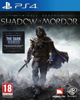 Bethesda Middle-Earth: Shadow of Mordor PS4
