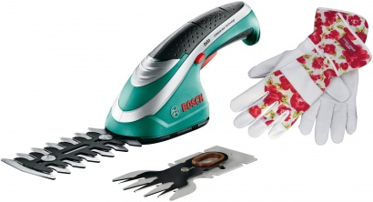 Bosch ISIO 2 nože + rukavice