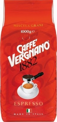 Caffé Vergnano Espresso Bar 1000g zrnková káva
