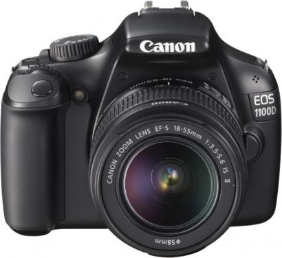 Canon EOS 1100D + EF 18-55mm IS II Black