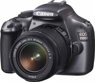 Canon EOS 1100D + EF 18-55mm IS II Grey