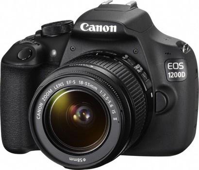 Canon EOS 1200D 18-55 DC + 50 1.8