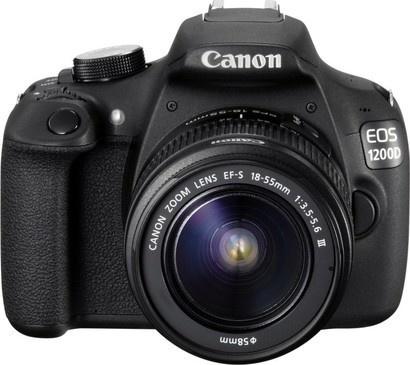 Canon EOS 1200D+18-55DC+75-300DC