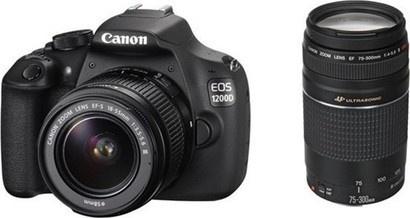 Canon EOS 1200D 18-55III DC+75-300III DC