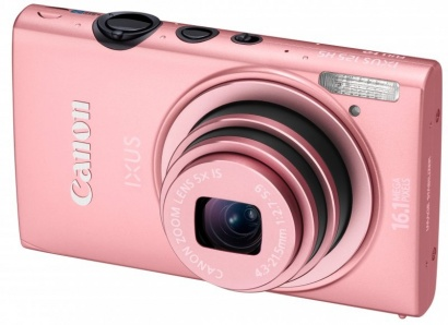 Canon IXUS 125HS Pink