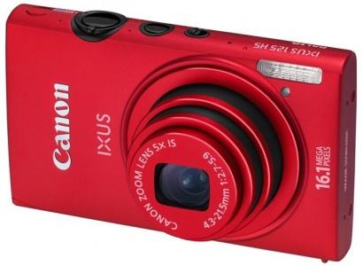 Canon IXUS 125HS Red