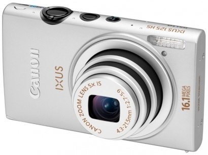 Canon IXUS 125HS Silver