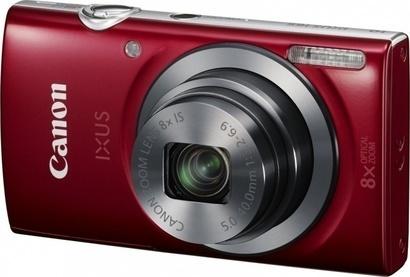 Canon IXUS 165 red + pouzdro + SDHC 8GB