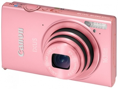 Canon IXUS 240HS Light Pink