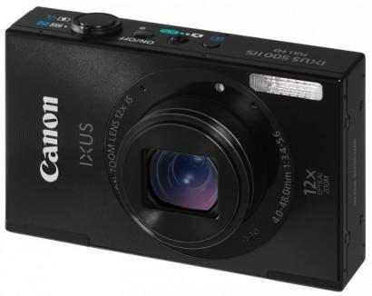 Canon IXUS 500HS Black