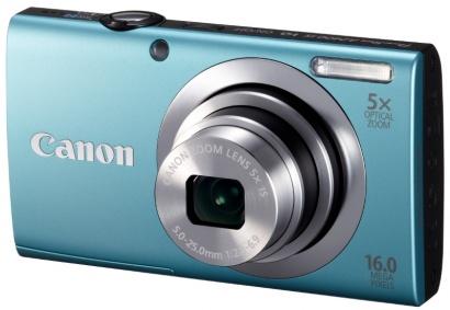 Canon PowerShot A2400 Blue