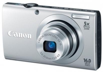Canon PowerShot A2400 Silver