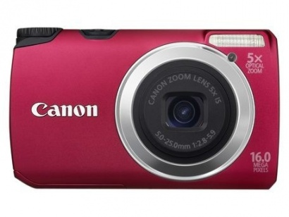 Canon PowerShot A3300 RED