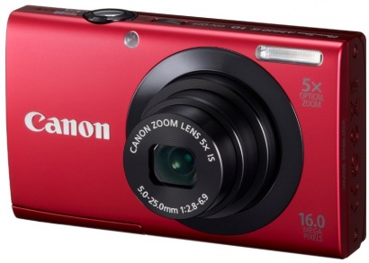 Canon PowerShot A3400 Red