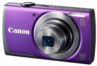 Canon PowerShot A3500 Purple