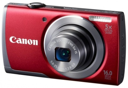 Canon PowerShot A3500 Red