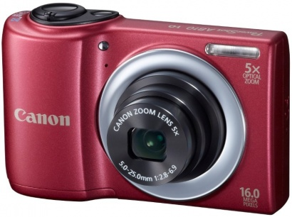 Canon PowerShot A810 Red