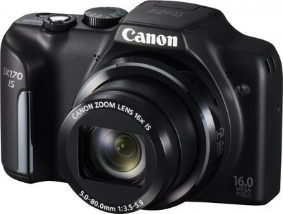 Canon PowerShot SX170 IS Black
