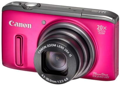 Canon PowerShot SX240 HS Pink