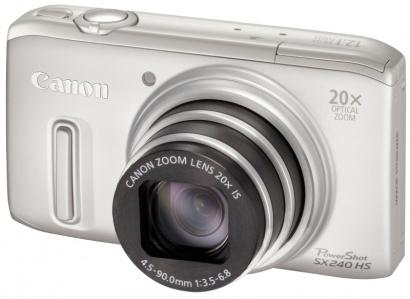 Canon PowerShot SX240 HS Silver