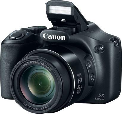 Canon PowerShot SX520 HS Black EU23