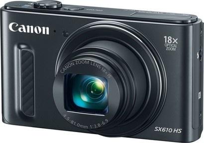 Canon Powershot SX610 Black