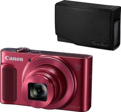 Canon PS SX620 Red + pouzdro DCC 1500