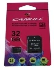 Canull Micro SD 32GB+SD adaptér Class 10