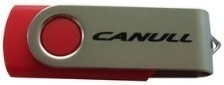 Canull USB Flash 16GB červená