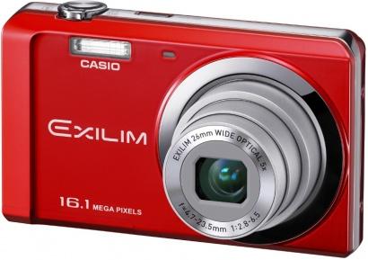 Casio EX ZS6 Red