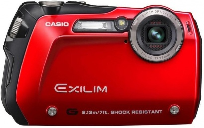 Casio EXILIM G EX-G1 Red
