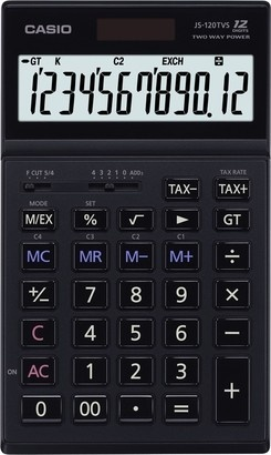 Casio JS 120 TVS BK