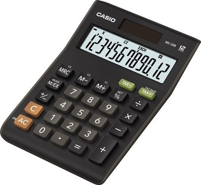 Casio MS 20 B S (TAX+EXCHANGE)