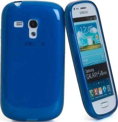 CELLY GELSKIN280LB modrý Galaxy S3 mini