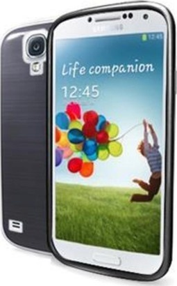 CELLY GELSKIN290BS kouřový Galaxy S4
