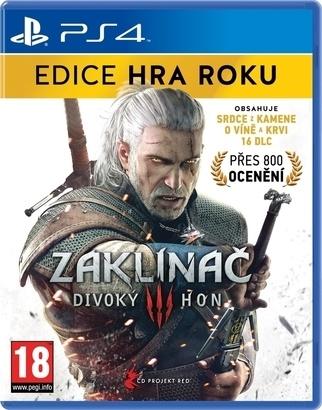 CENEGA Zaklínač 3:Divoky Hon - edice hra roku PS4