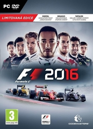 Codemasters F1 2016 limited edition PC