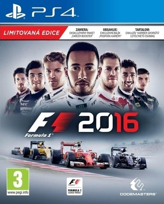 Codemasters F1 2016 limited edition PS4