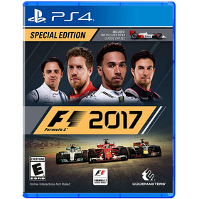 Codemasters F1 2017 hra PS4