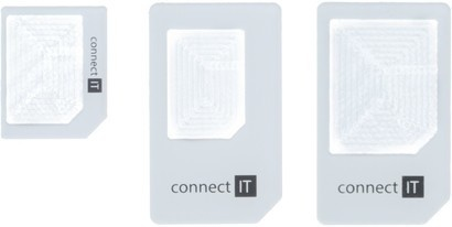 Connect IT CI-172 nano+micro SIM adaptér